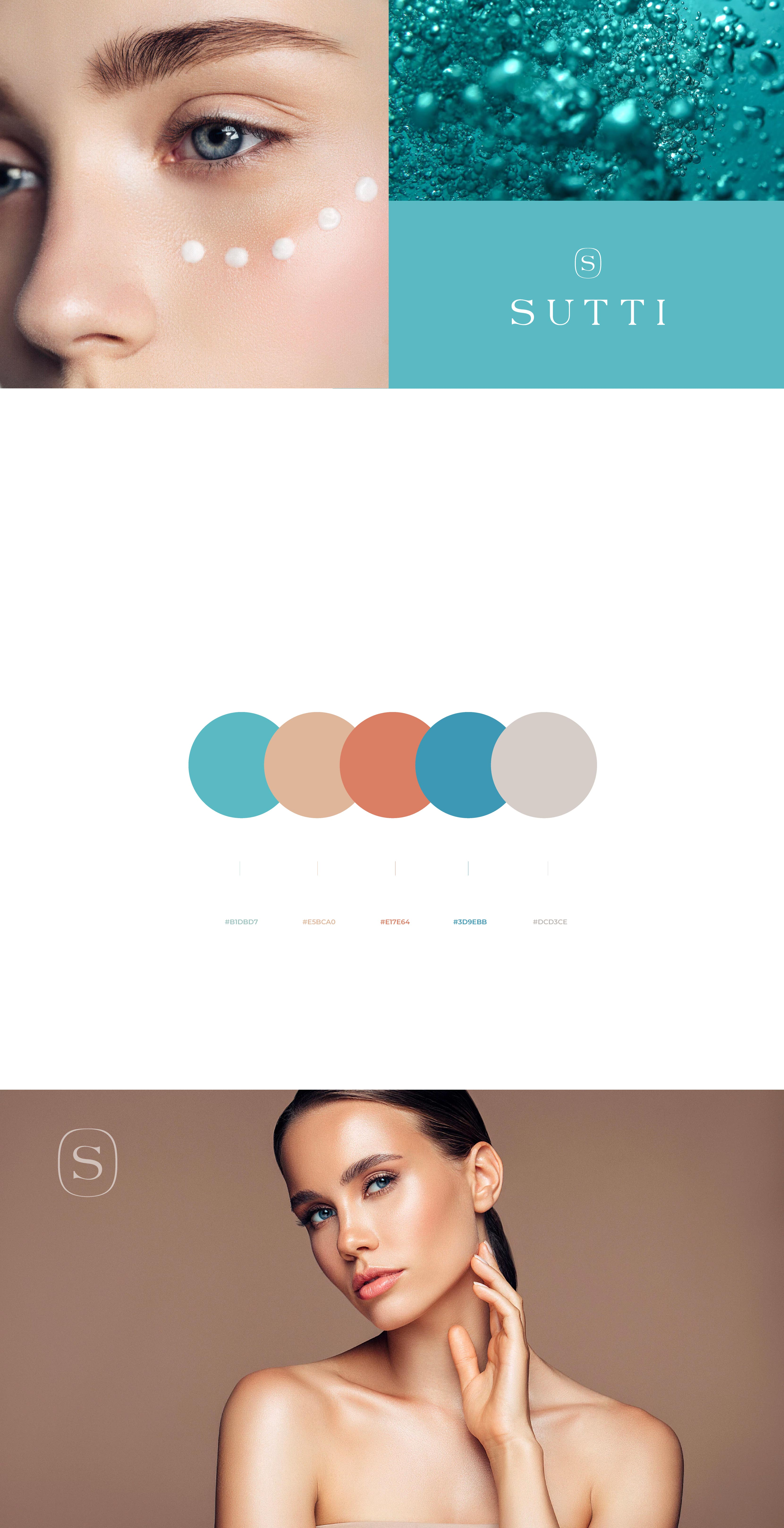 Beauty brands, care brands color chart - Sutti Cosmetics